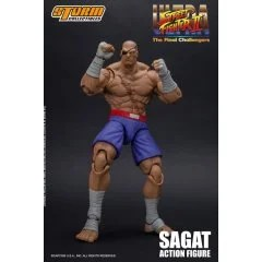 ULTRA STREET FIGHTER II THE FINAL CHALLENGERS 1/12 SCALE PRE-PAINTED ACTION FIGURE: SAGAT Storm Collectibles