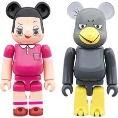 BE@RBRICK CHICO WILL SCOLD YOU!: CHICO-CHAN & KYOE-CHAN 2 PACK Medicom