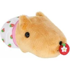 CAPYBARA-SAN PLUSH: STRAWBERRY PANTS BEESHIKUUN Sekiguchi