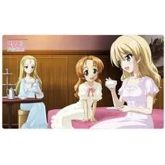 GIRLS UND PANZER DAS FINALE RUBBER MAT: ST. GLORIANA GIRLS ACADEMY Curtain Damashii