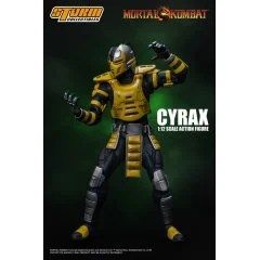 MORTAL KOMBAT 1/12 SCALE PRE-PAINTED ACTION FIGURE: CYRAX Storm Collectibles