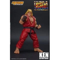 ULTRA STREET FIGHTER II THE FINAL CHALLENGERS PRE-PAINTED ACTION FIGURE: KEN Storm Collectibles