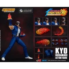 THE KING OF FIGHTERS '98 ULTIMATE MATCH PRE-PAINTED ACTION FIGURE: KYO KUSANAGI [2019 TOYSHOW LIMITED] Storm Collectibles
