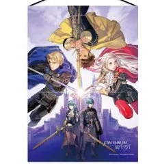 FIRE EMBLEM THREE HOUSES WALL SCROLL: MAIN VISUAL Intelligent Systems