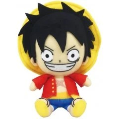 ONE PIECE CHIBI PLUSH: MONKEY D. LUFFY Tamashii (Bandai Toys)