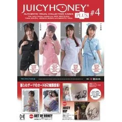 AVC JUICY HONEY COLLECTION CARD PLUS #4 MOE AMATSUKA & YUNA OGURA & JESSICA KIZAKI & MAKOTO TODA ADULT TRADING CARD (SET OF 16 PACKS) Mint