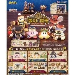 KIRBY'S DREAM LAND: KIRBY'S DREAM GEAR -BEGINNING OF THE ADVENTURE- (SET OF 6 PIECES) Re-ment
