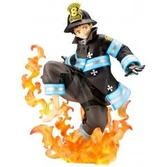 ARTFX J FIRE FORCE 1/8 SCALE PRE-PAINTED FIGURE: SHINRA KUSAKABE Kotobukiya
