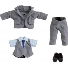 NENDOROID DOLL: OUTFIT SET (SUIT - GREY) Good Smile