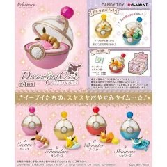 POKEMON EIEVUI & FRIENDS DREAMING CASE (SET OF 4 PIECES) (RE-RUN) Re-ment