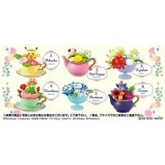 POKEMON FLORAL CUP COLLECTION 2 (SET OF 6 PIECES) Re-ment