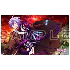 NO GAME NO LIFE ZERO RUBBER MAT: RIKU & SHUVI Curtain Damashii