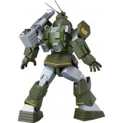 FANG OF THE SUN DOUGRAM COMBAT ARMORS MAX 18 1/72 SCALE MODEL KIT: SOLTIC H8 ROUNDFACER REINFORCED PACK MOUNTED TYPE Max Factory