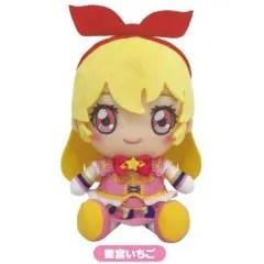 AIKATSU ON PARADE! CHIBI PLUSH: HOSHIMIYA ICHIGO Tamashii (Bandai Toys)