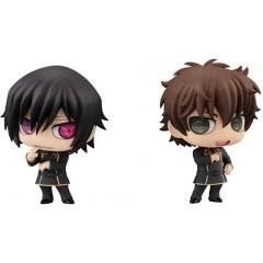 CHIMI MEGA BUDDY SERIES NO. 010 CODE GEASS LELOUCH OF THE REBELLION: LELOUCH LAMPEROUGE & SUZAKU KURURUGI SET Mega House