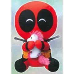 MARVEL COMICS DEADPOOL WITH UNICORN PLUSH Sega