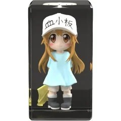 CELLS AT WORK! FULL COLOR 3D CRYSTAL FIGURE: PLATELET B'full Fots Japan