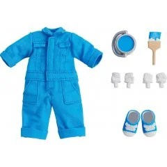 NENDOROID DOLL: OUTFIT SET (COLORFUL COVERALL - BLUE) Good Smile