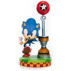SONIC THE HEDGEHOG PVC PAINTED STATUE: SONIC [STANDARD EDITION] First4Figures