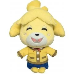 ANIMAL CROSSING ALL STAR COLLECTION PLUSH: DP07 ISABELLE (SMILING) (S) San-ei Boeki