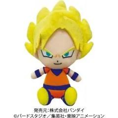 DRAGON BALL Z CHIBI PLUSH: SUPER SAIYAN SON GOKU Tamashii (Bandai Toys)