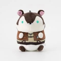 MOCHIMOCHI HAMSTER COLLECTION ATTACK ON TITAN PLUSH: EREN Broccoli