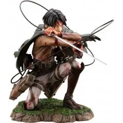 ARTFX J ATTACK ON TITAN 1/7 SCALE PRE-PAINTED FIGURE: LEVI FORTITUDE VER. Kotobukiya