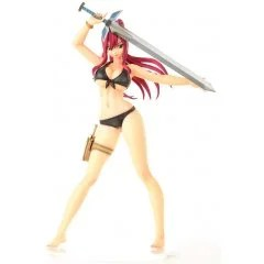 FAIRY TAIL 1/6 SCALE PRE-PAINTED FIGURE: ERZA SCARLET SWIMSUIT GRAVURE_STYLE Orca Toys