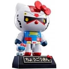 CHOGOKIN GUNDAM HELLO KITTY Tamashii (Bandai Toys)