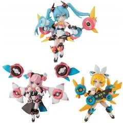 DESKTOP SINGER HATSUNE MIKU SERIES (SET OF 3 PACKS) Mega House
