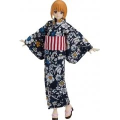 FIGMA STYLES NO. 473 ORIGINAL CHARACTER: FEMALE BODY (EMILY) WITH YUKATA OUTFIT Max Factory