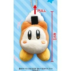 KIRBY'S DREAM LAND BURUBURUZU PLUSH MASCOT 2: WADDLE DEE Eikoh