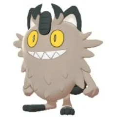 POCKET MONSTERS ALL STAR COLLECTION PP163: MEOWTH GALARIAN FORM (S) San-ei Boeki