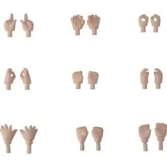 NENDOROID DOLL: HAND PARTS SET (CREAM) (RE-RUN) Good Smile
