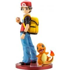 ARTFX J POKEMON SERIES 1/8 SCALE PRE-PAINTED FIGURE: RED WITH CHARMANDER Kotobukiya