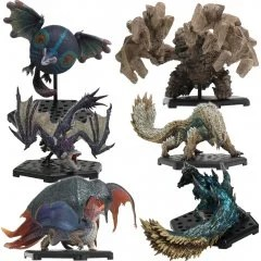 CAPCOM FIGURE BUILDER MONSTER HUNTER STANDARD MODEL PLUS VOL. 17 (SET OF 6 PIECES) Capcom