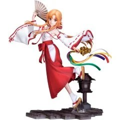 SWORD ART ONLINE ALICIZATION WAR OF UNDERWORLD 1/7 SCALE PRE-PAINTED FIGURE: ASUNA MIKO VER. Souyokusha