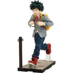 MY HERO ACADEMIA CONNECOLLE 1/8 SCALE PRE-PAINTED FIGURE: IZUKU MIDORIYA SCHOOL UNIFORM VER. TakaraTomy