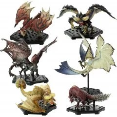 CAPCOM FIGURE BUILDER MONSTER HUNTER STANDARD MODEL PLUS: THE BEST OF VOL. 9, 10, 11 (SET OF 6 PIECES) Capcom