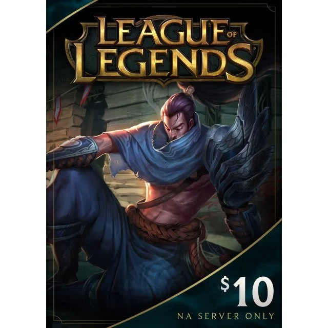 League Of Legends Gift Card USD 10 Digital