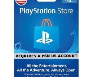 PSN CARD 50 USD | PLAYSTATION NETWORK US