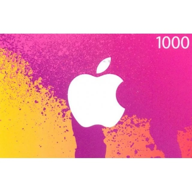 ITunes Card 1000 Yen For Japan Accounts Only Digital