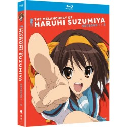 THE MELANCHOLY OF HARUHI SUZUMIYA - SEASONS 1 & 2