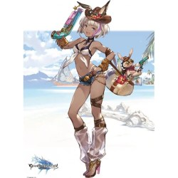 GRANBLUE FANTASY WALL ART - CHLOE SWIMSUIT VER