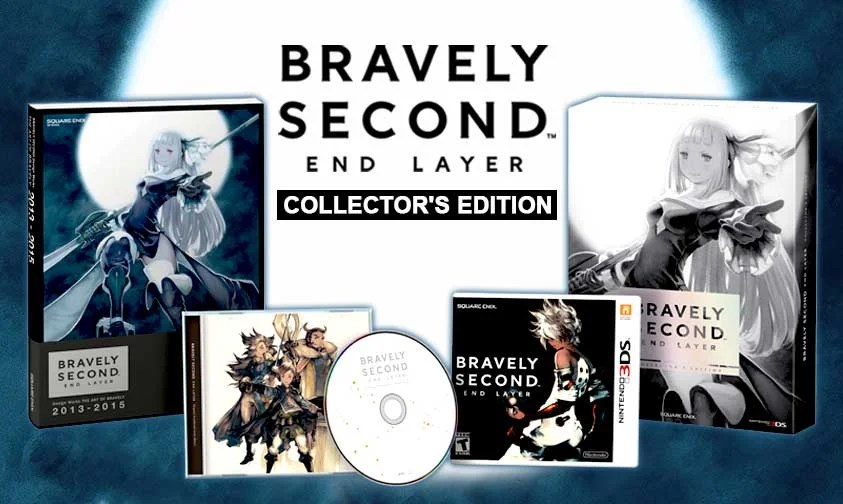 PRE ORDER Bravely Second End Layer Collectors Edition