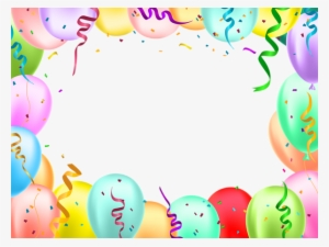 birthday border png free hd birthday