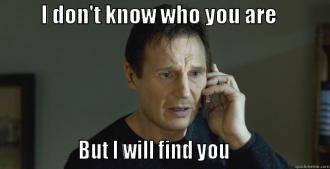 Image result for liam neeson I will find you gifs
