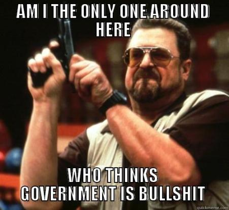 Image result for all governments are bullshit