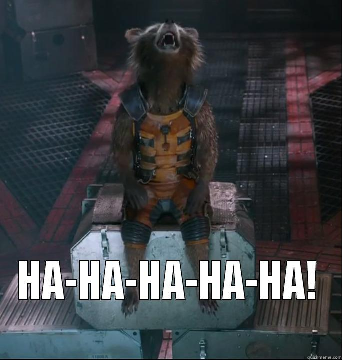 Image result for rocket laughing