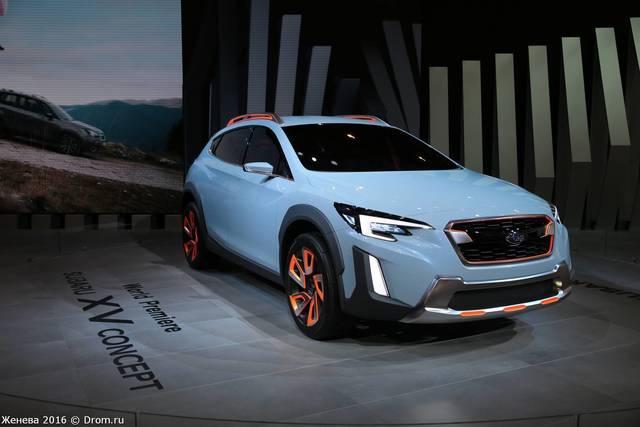 Breez, Subaru XV
